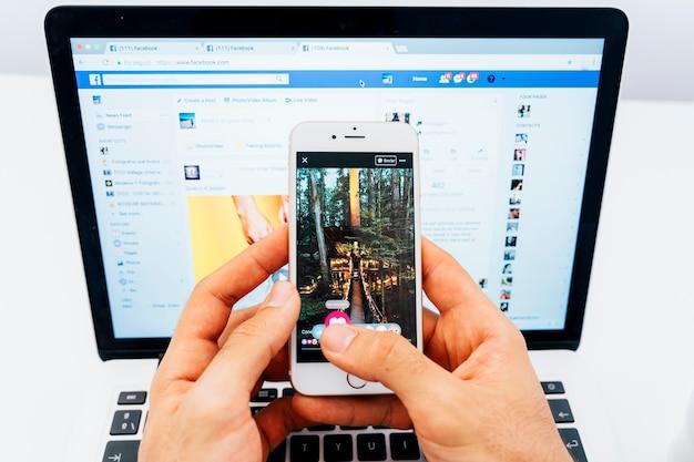 Facebook es la red social más popular en el mundo