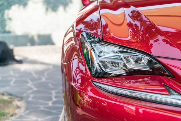 Faros de luz de coche Foto gratis