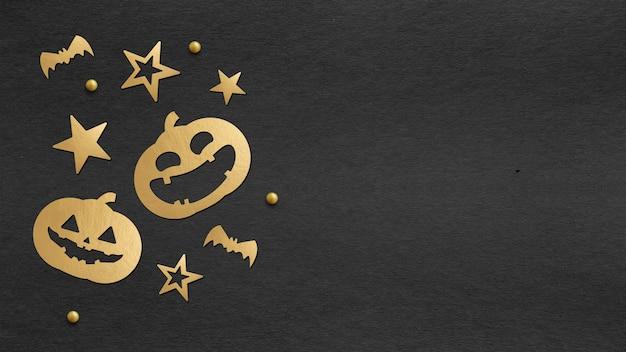 Feliz día de halloween de fondo Foto Premium