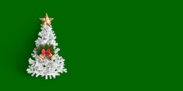 Feliz navidad sobre fondo de color Foto Premium