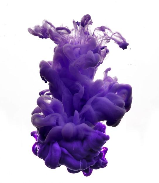 Figura de tinta abstracta Foto gratis