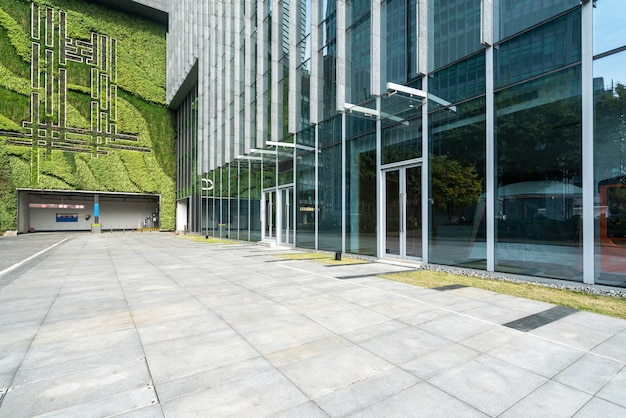 Financial center plaza y edificio de oficinas, chongqing, china Foto Premium