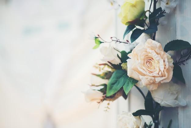 Flor en evento de boda Foto gratis