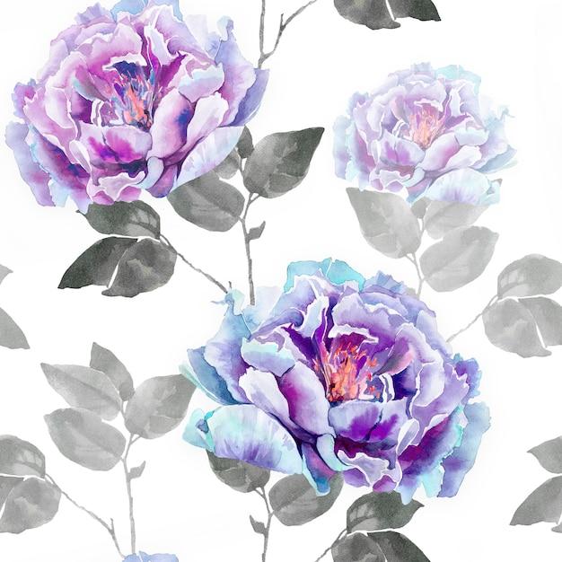 Flores rosas de peonía Foto Premium