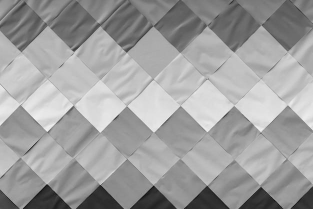 404eb7cbd8a Fondo abstracto de la decoración del modelo de papel blanco, gris y negro  en la pared.   Descargar Fotos premium