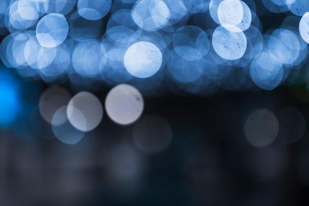 Fondo abstracto festivo con luz defocused bokeh Foto gratis