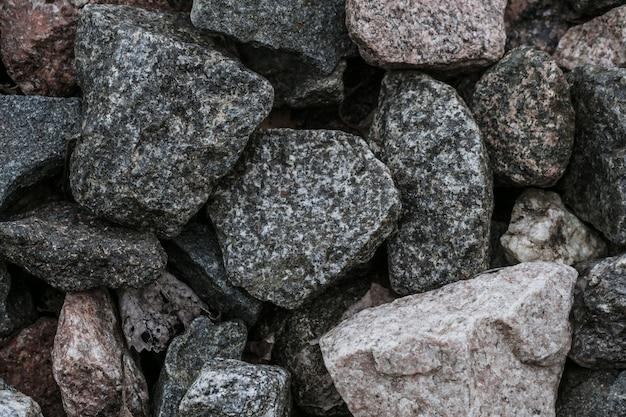 Fondo abstracto natural de textura de escombros Foto Premium