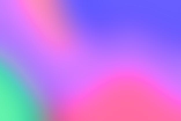 Fondo abstracto pop borroso con colores primarios vivos Foto gratis