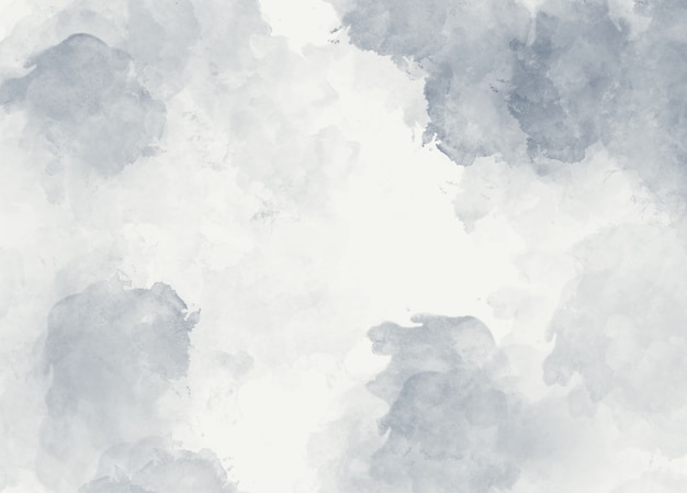 Fondo abstracto suave acuarela gris Foto Premium