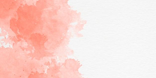 Fondo de acuarela pintada a mano con forma de cielo y nubes Foto gratis