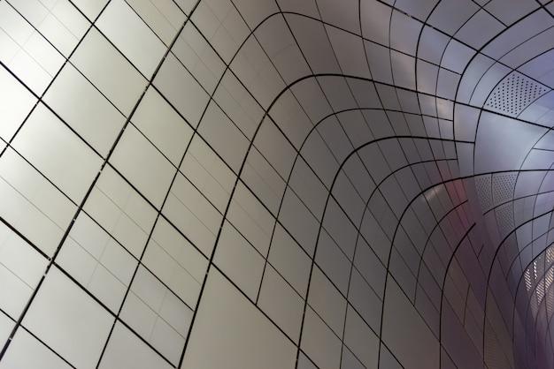 Fondo de arte abstracto líneas movemwnt Foto Premium