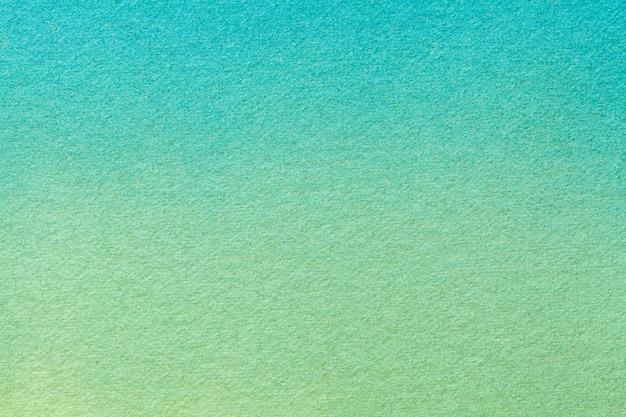 Fondo de arte abstracto turquesa claro y colores verdes, pintura de acuarela sobre lienzo, Foto Premium