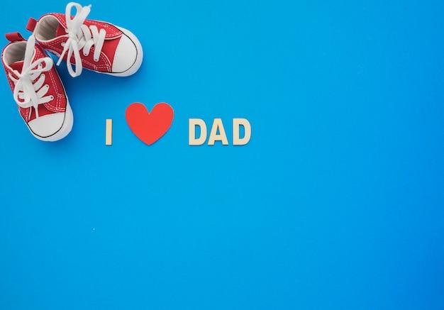 Para Fondo Corazón Del PadreDescargar El Con Zapatos Azul Y Día oWrCxdBe