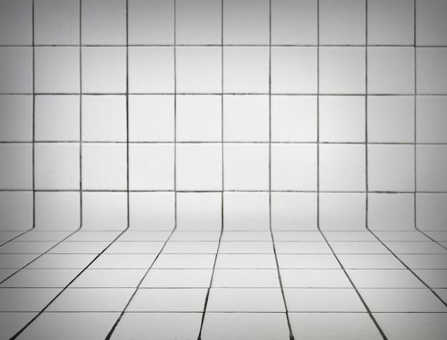 Fondo de azulejos blancos Foto gratis