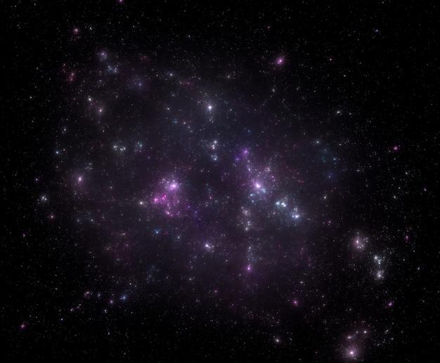 Fondo del campo de estrellas textura de fondo de espacio exterior estrellado Foto Premium