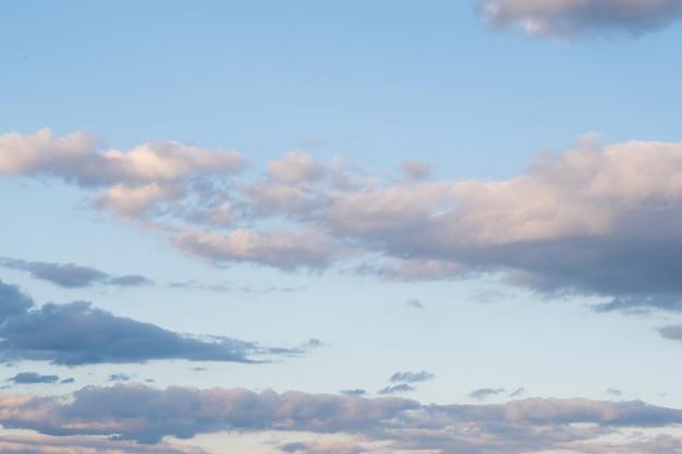 Fondo con cielo nublado Foto gratis