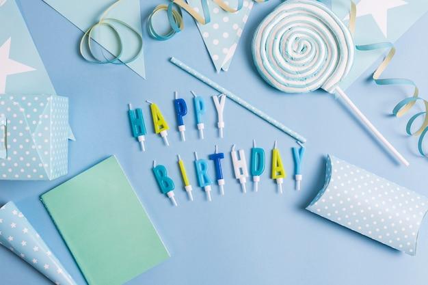 Fondo de cumpleaños Foto gratis