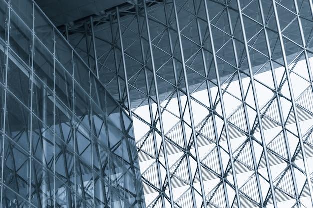 Fondo de edificio moderno con estructura de metal Descargar Fotos