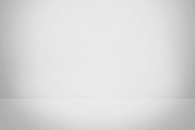 Fondo Degradado Blanco Y Gris, Sala De Estudio En Blanco