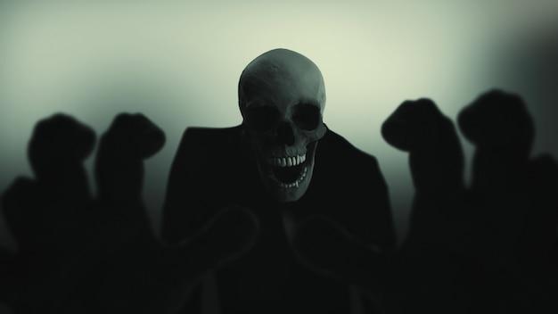 Fondo de demonio Foto Premium