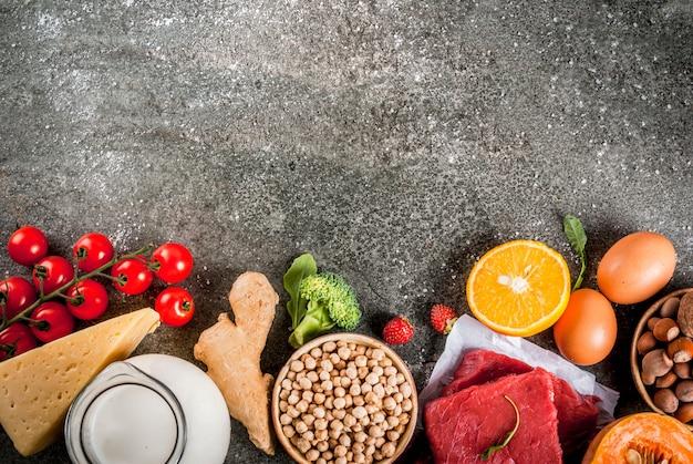 dieta de frutas, verduras y pollo