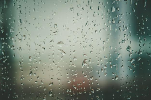 Fondo de pantalla ventana con gotas