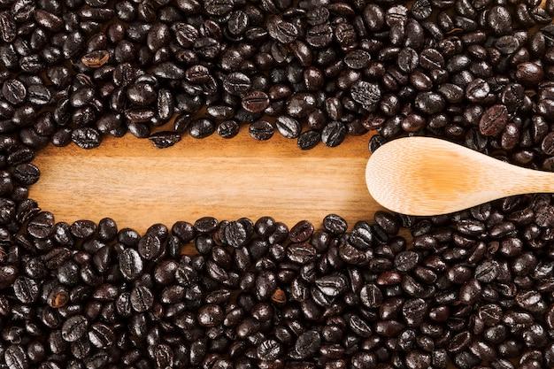 Fondo de granos de café Foto gratis