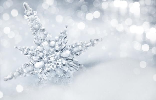 Fondo de invierno Foto Premium