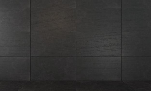 Fondo de losas de hormigón decorativas oscuras. Foto Premium