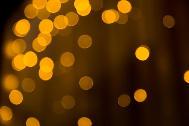 Fondo de luces borrosas Foto gratis