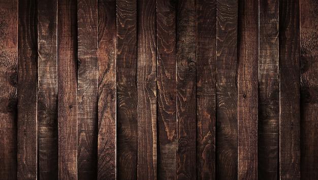 Fondo de madera oscura Foto Premium