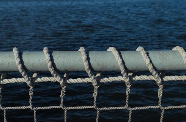 Fondo marítimo o marinero con espacio para texto. Foto Premium