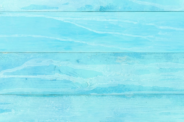 Fondo de mesa de madera azul Foto gratis