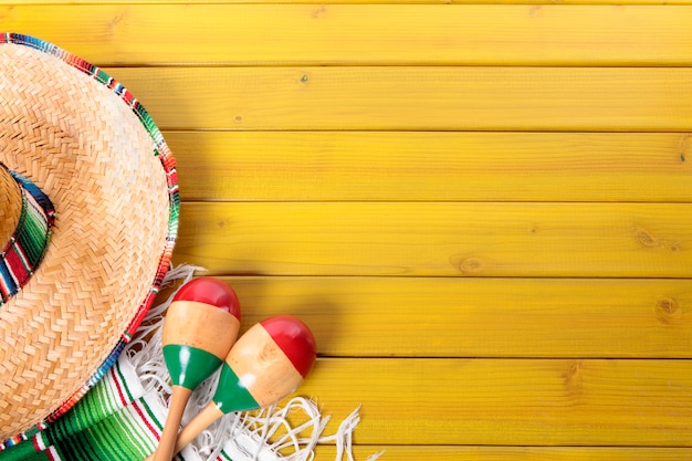 Fondo mexicano con copyspace descargar fotos premium for Mexican themed powerpoint template