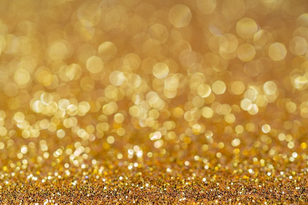 Fondo de navidad festivo brillante dorado Foto Premium