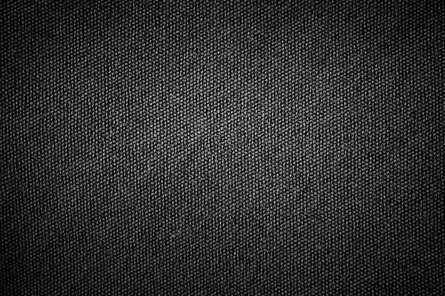 fondo negro simple textura de la tela de cilicio con