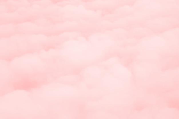Fondo de nubes rosadas Foto gratis