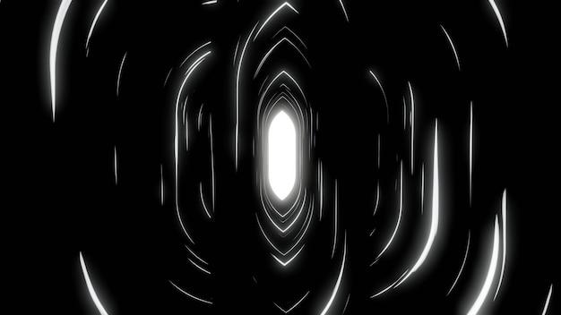 Fondo de pantalla de fondo blanco negro abstracto pantalla de brillo de velocidad de línea negra Foto Premium