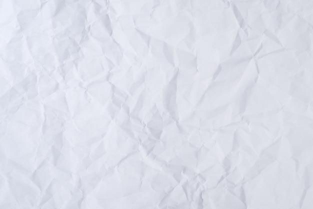 Fondo De Papel Arrugado Blanco Y Textura, Arrugado Papel