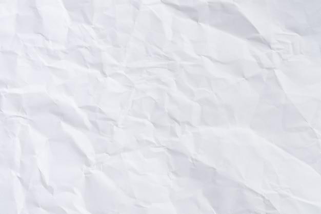 Fondo De Papel Arrugado Blanco Y Textura, Arrugado Pliegue