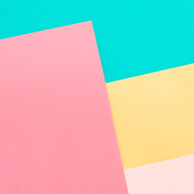 Fondo de papeles de colores Foto gratis