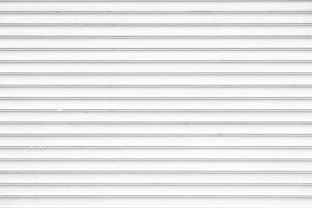 Fondo de pared de metal blanco simple Foto gratis