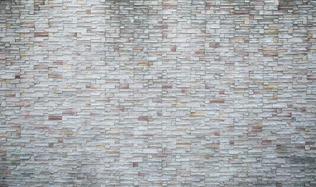 Fondo de pared de piedra decorativa Foto Premium