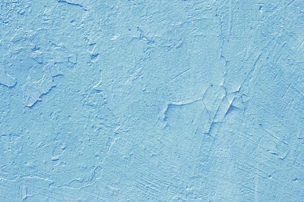 Fondo de pared pintada de cemento, textura de color pastel azul bebé Foto Premium