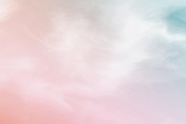Fondo Pastel De Color Abstracto, Un Cielo Suave Con Fondo
