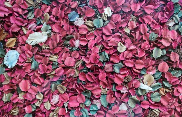 Fondo De Pétalos De Flores Secas Descargar Fotos Premium