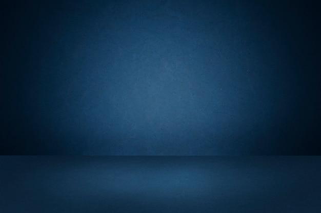 Fondo de producto azul oscuro Foto gratis