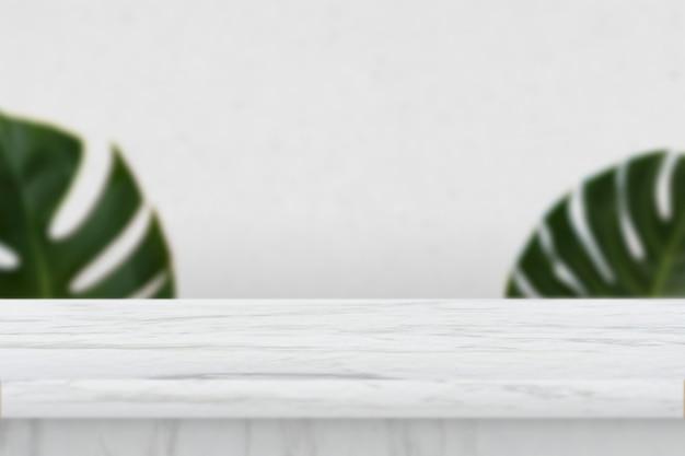 Fondo de producto de mesa de mármol Foto gratis