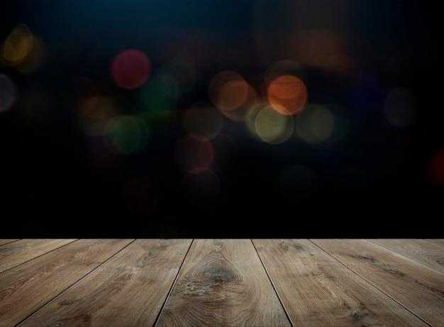Fondo de productos de mesa de madera. Foto gratis