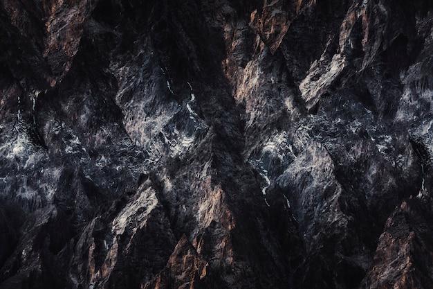 Fondo de roca oscura Foto gratis
